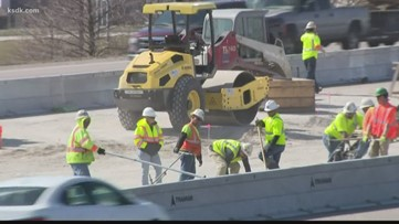 New phase of Blanchette Bridge construction