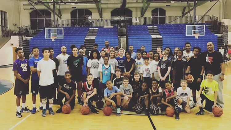Local basketball coach Corey Frazier celebrates 20 years of coaching