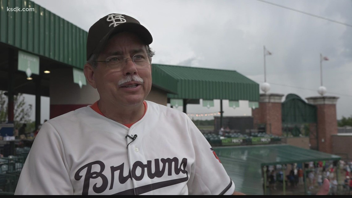 St. Louis Browns night for Gateway Grizzlies brings out fans and memories