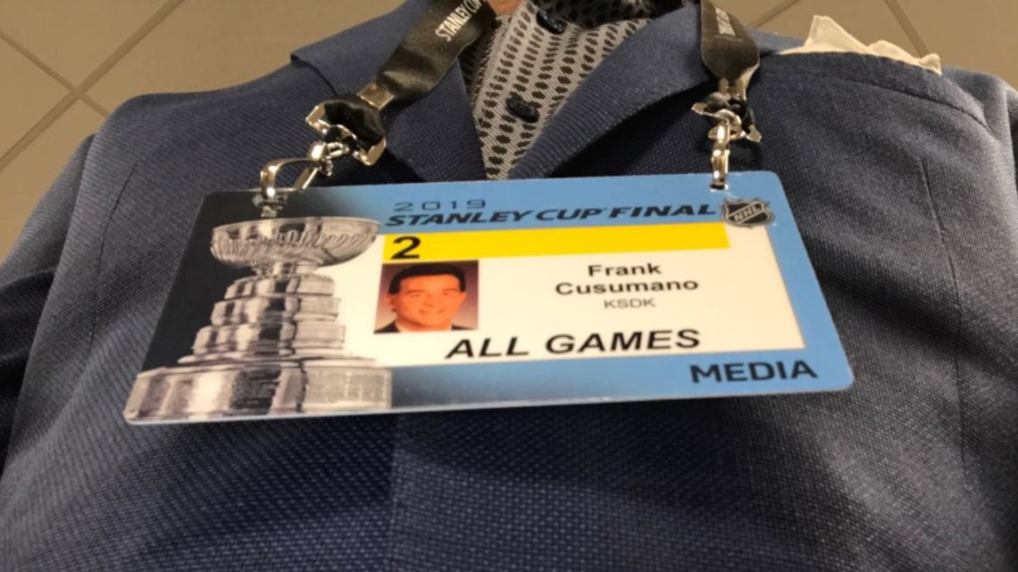 'The credential I have been waiting to put on' | Follow Frank Cusumano at the Stanley Cup Final in Boston