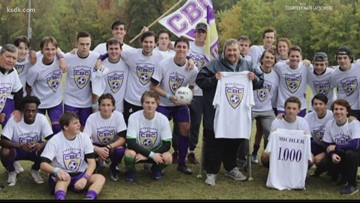 CBC soccer coach Terry Michler earns career win No. 1,000