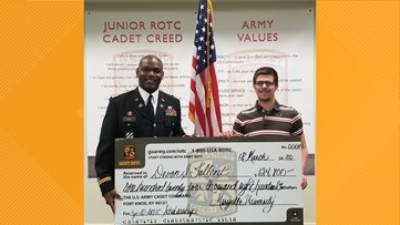 McCluer High School JROTC cadet receives $124K scholarship