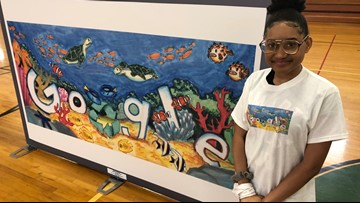 Fort Zumwalt Middle School student to represent Missouri in the 'Doodle for Google' competition