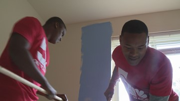 Project 5 volunteers paint walls for new Southeast Ferguson Community center