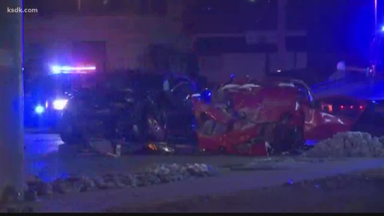 Man killed in crash following police pursuit in St. Louis County