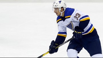 Blues recall forwards Kyrou and Poganski