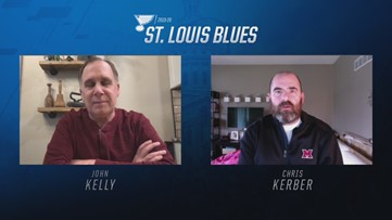 Blues broadcaster John Kelly talks about testing positive for COVID-19