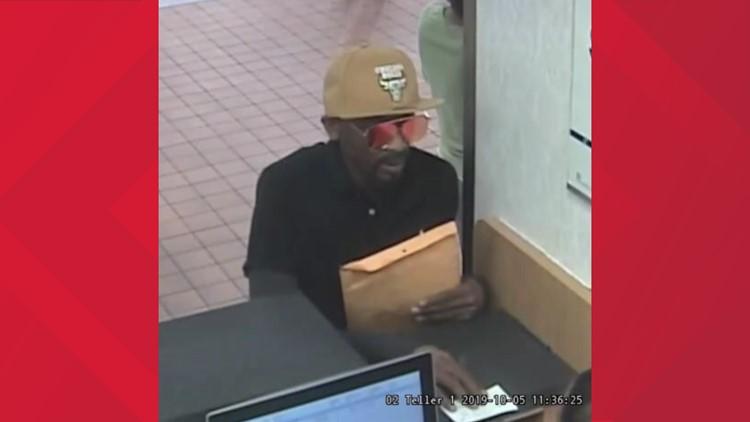 Overland bank robber