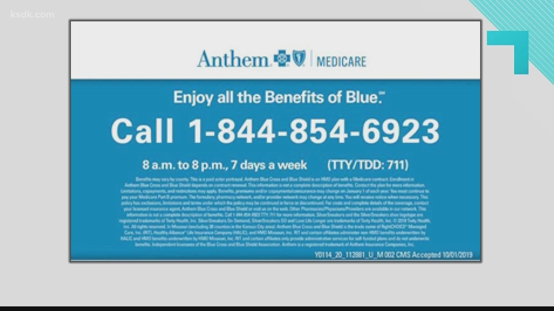 Anthem Blue Cross and Blue Shield offers Medicare ...