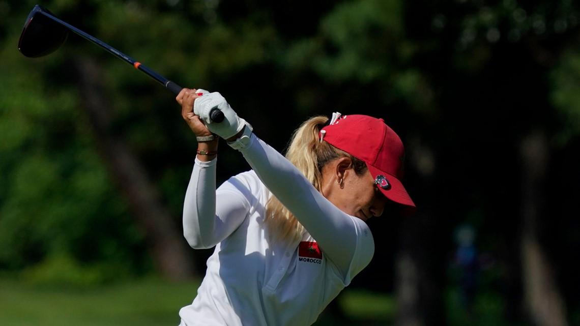 Hole in one! Morocco's Maha Haddioui gets an Olympic ace