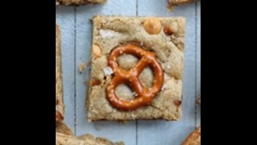 Recipe of the Day: Salted Butterscotch Pretzel Blondies
