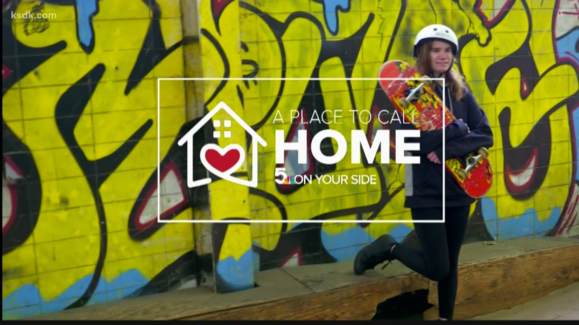 A Place To Call Home: Lindsey loves to skateboard