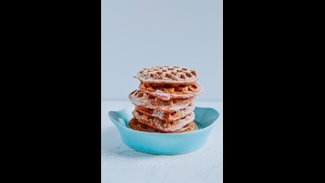 Recipe of the Day: Heart Pancakes or Waffles using beets