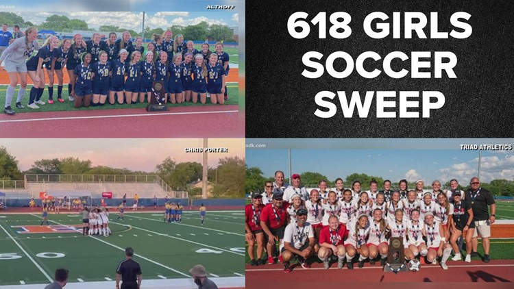 618 soccer sweep | Althoff, Triad, O'Fallon win girls soccer state championships