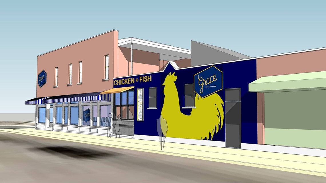 Grace Meat + Three opening new late-night concept in The Grove