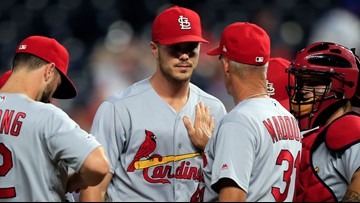 5-run 7th inning leads Cardinals to another shutout win over Royals