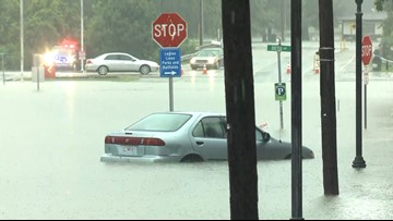 Flash floods affect businesses in downtown Eureka