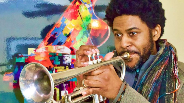 Trumpet player Kasimu Taylor on how COVID-19 'silenced' his career