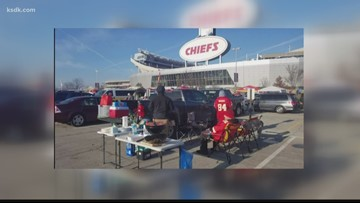 Chiefs fans to bundle up for freezing cold AFC Championship game
