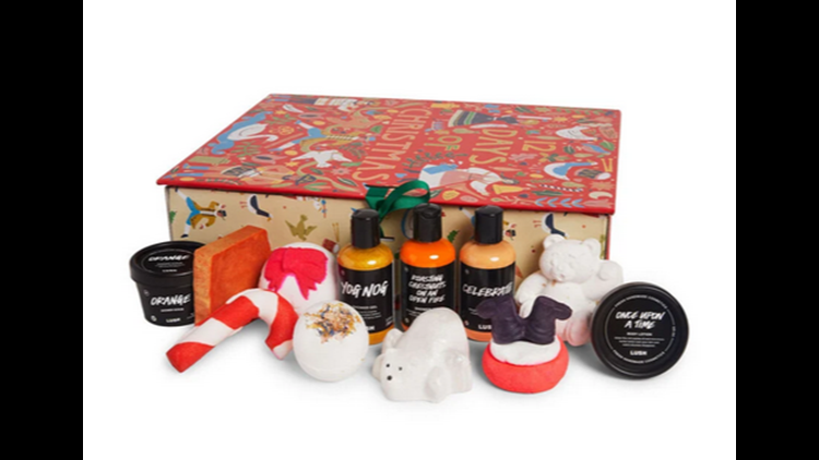 LUSH Gift Sets Comment-to-Win Sweepstakes
