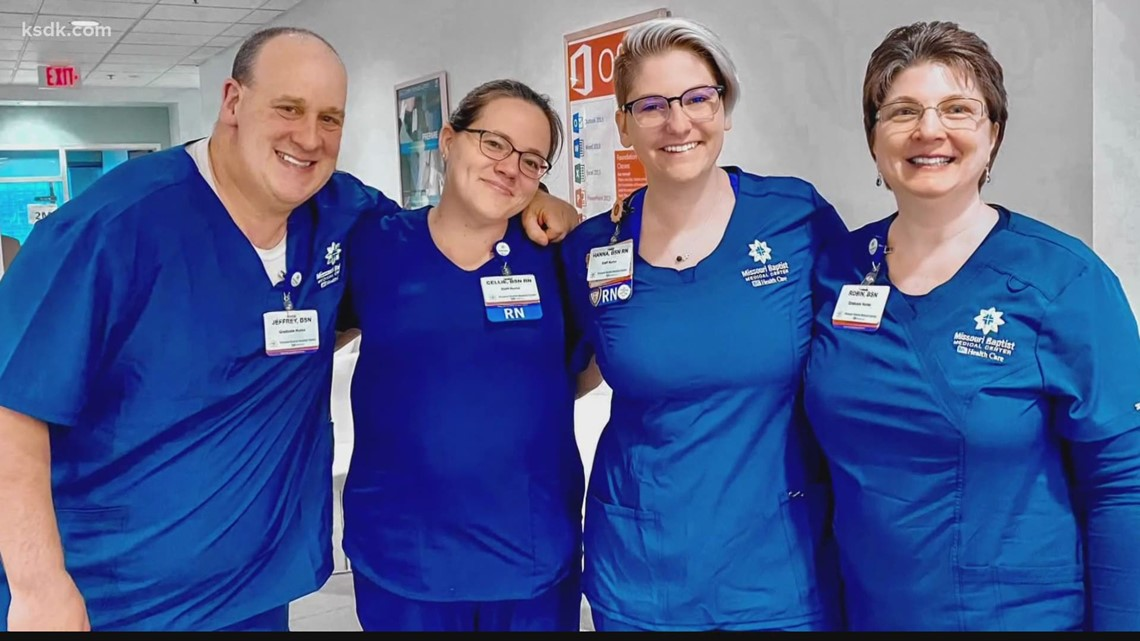 Local heart patient becomes heart nurse