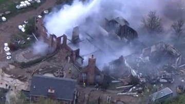 1 person unaccounted for in Columbia, Ill. mansion fire