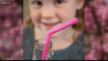 Local company sells reusable drinking straws in an effort to help the environment