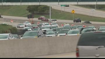 Indefinite lane closures on I-64
