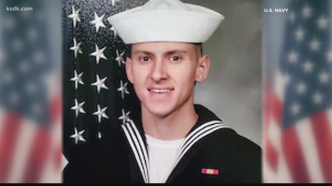 Sailor's body returns home to St. Louis