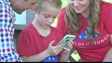 Folds of Honor giving scholarships to Missouri military kids