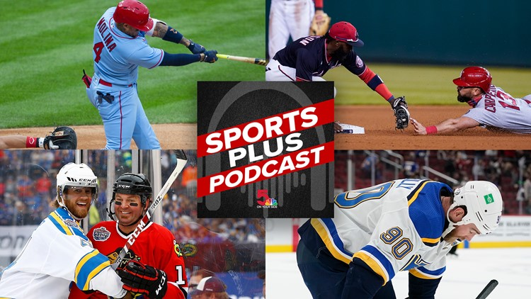 Sports Plus Podcast | Up and down Cards, Blues on the brink of collapse and a visit with Chris Pronger
