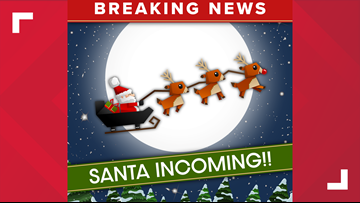 Santa back at the North Pole after the world tracked his journey