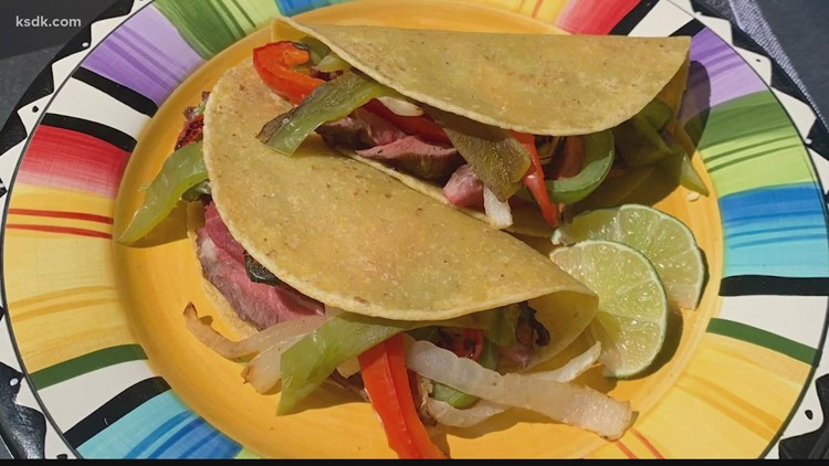 Recipe of the Day: Grilled Flat Iron Steak Fajitas with Roasted Hatch Chiles