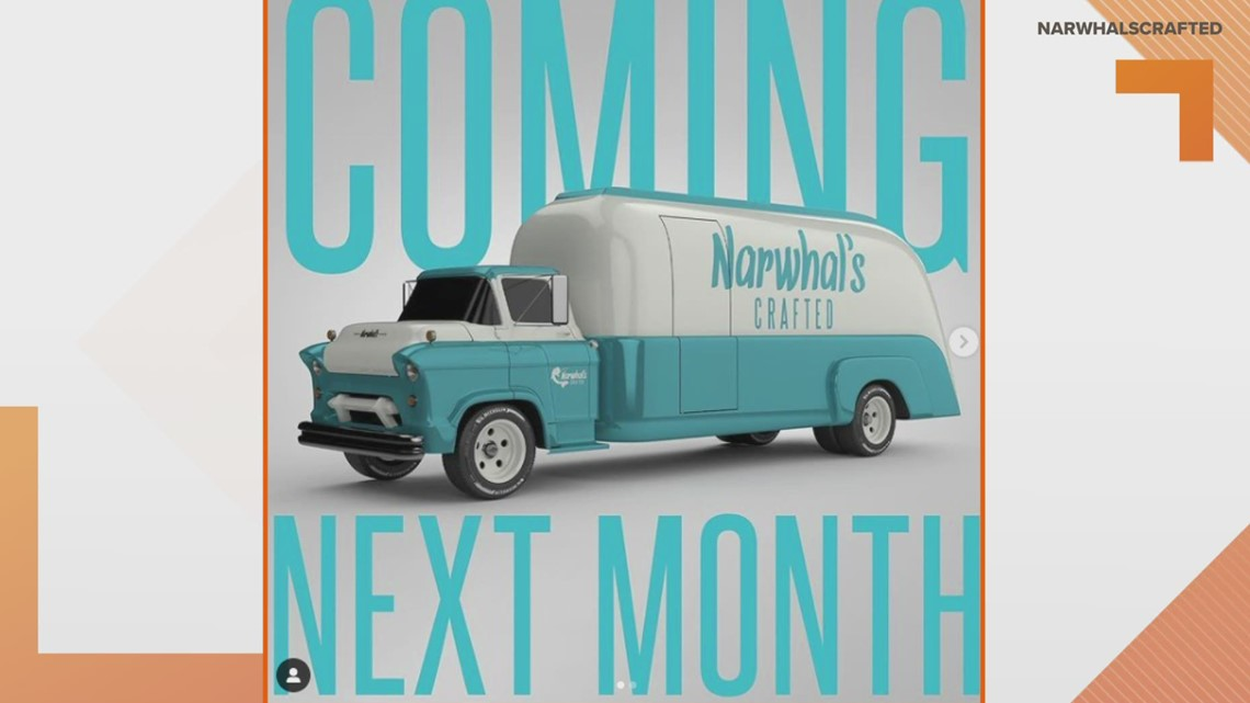 Narwhal's Crafted launching food truck