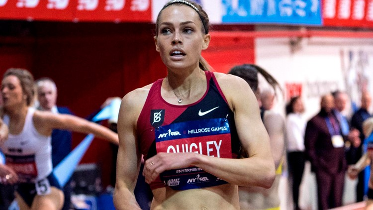 'My body needs a break': St. Louisan Colleen Quigley withdraws from Olympic track and field trials