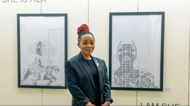 'She Is Her, I Am She' art exhibit explores Black womanhood, beauty and fashion