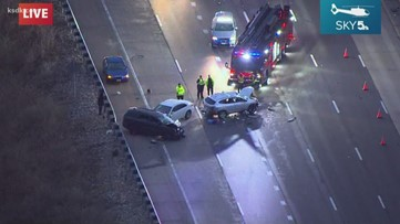 1 seriously injured in multi-car accident on I-270 in St. Louis County