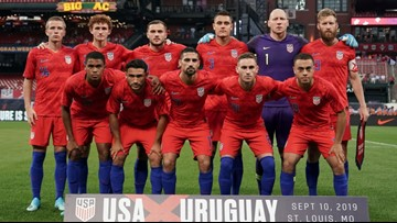 USA ties No. 5 Uruguay at Busch Stadium