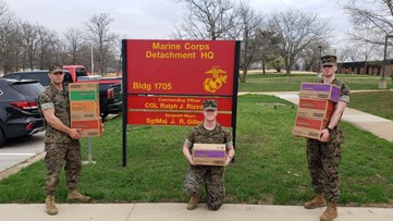 Girls Scouts of Eastern Missouri donate thousands of boxes of cookies to USO of Missouri