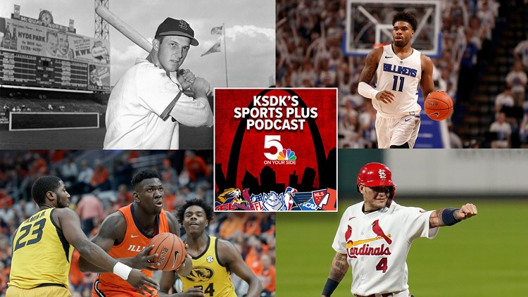 Sports Plus Podcast | College hoops are here, Yadi latest and remembering Musial at 100