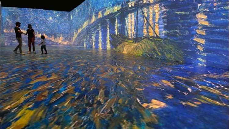 Immersive Van Gogh experience extends stay in St. Louis