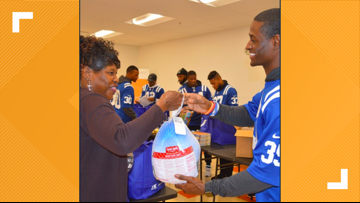 Colts' Pierre Desir donates 20,000 meals to St. Louis Area Foodbank