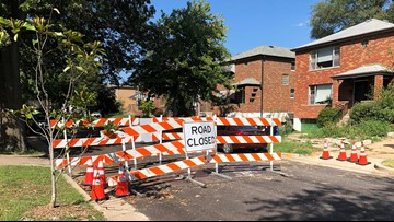'2 months and nothing seems to be done' | University City neighbors wonder why it's taking so long to repair sinkhole, reopen road