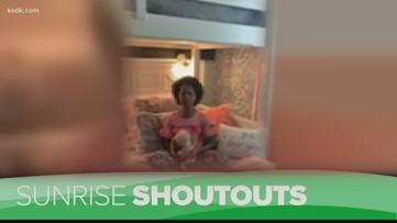 Sunrise Shoutouts: Meaza Joy Edwards