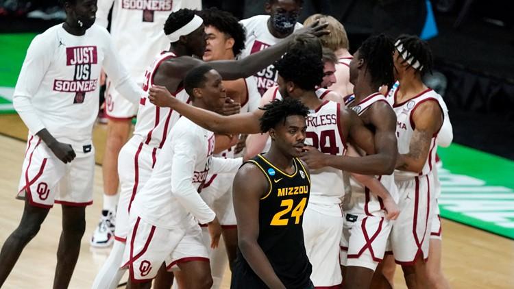 Oklahoma slips past former Big 12 rival Missouri in NCAAs