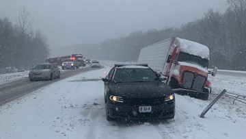 SB I-55 reopened in Ste. Genevieve County after accident involving 15 cars