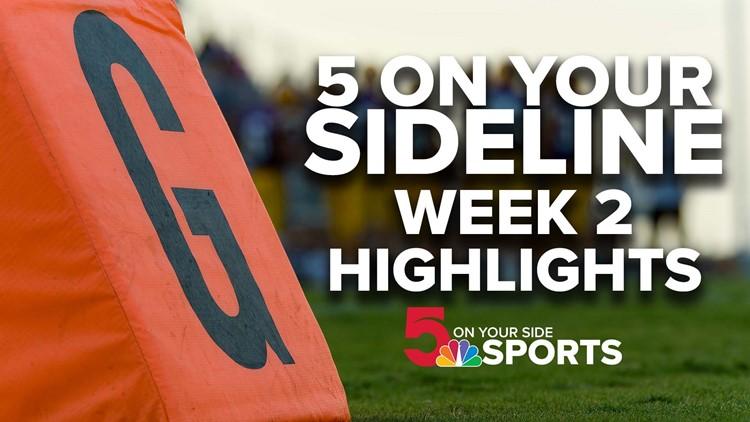 5 On Your Sideline high school football highlights: Week 2
