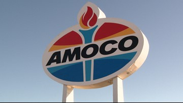 Iconic Amoco sign in St. Louis is getting a new look