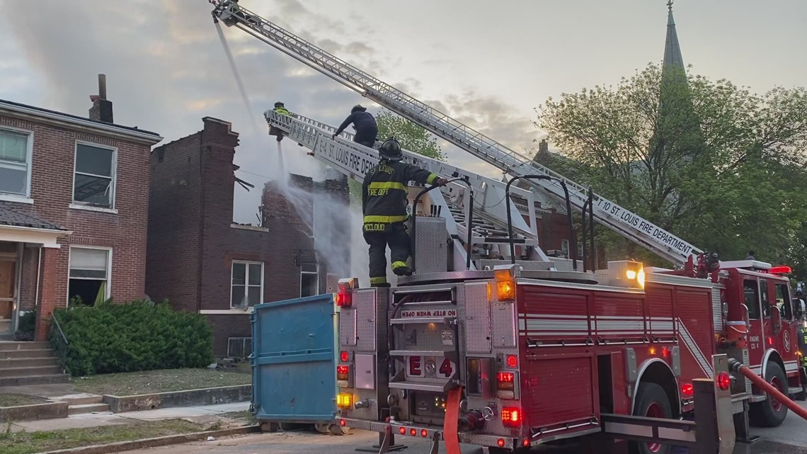 Fire destroys two-story house in The Ville