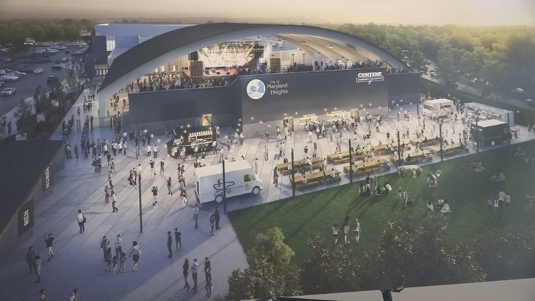 Construction underway for new amphitheater in Maryland Heights